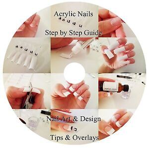 Step By Step Guide To Acrylic Nails Dvd Nail Art Design Tips