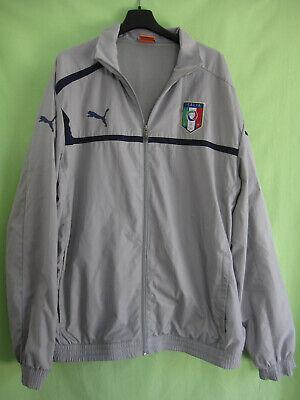 Affidabile Veste Puma Football Vintage Grise Jacket Italia Calcio - Xl Vendendo Bene In Tutto Il Mondo