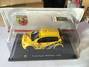 DIE-CAST-034-FIAT-PUNTO-SUPER-1600-RALLY-2002-034-TECA-RIGIDA-BOX-2-SCALA-1-43