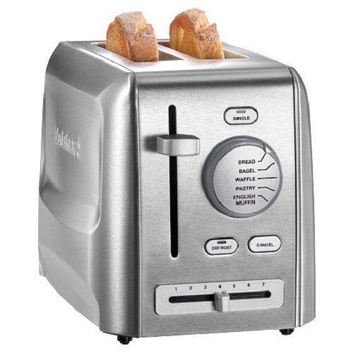 Cuisinart 086279087928 CPT-620 2-slice metal Grille-pain en acier inoxydable,