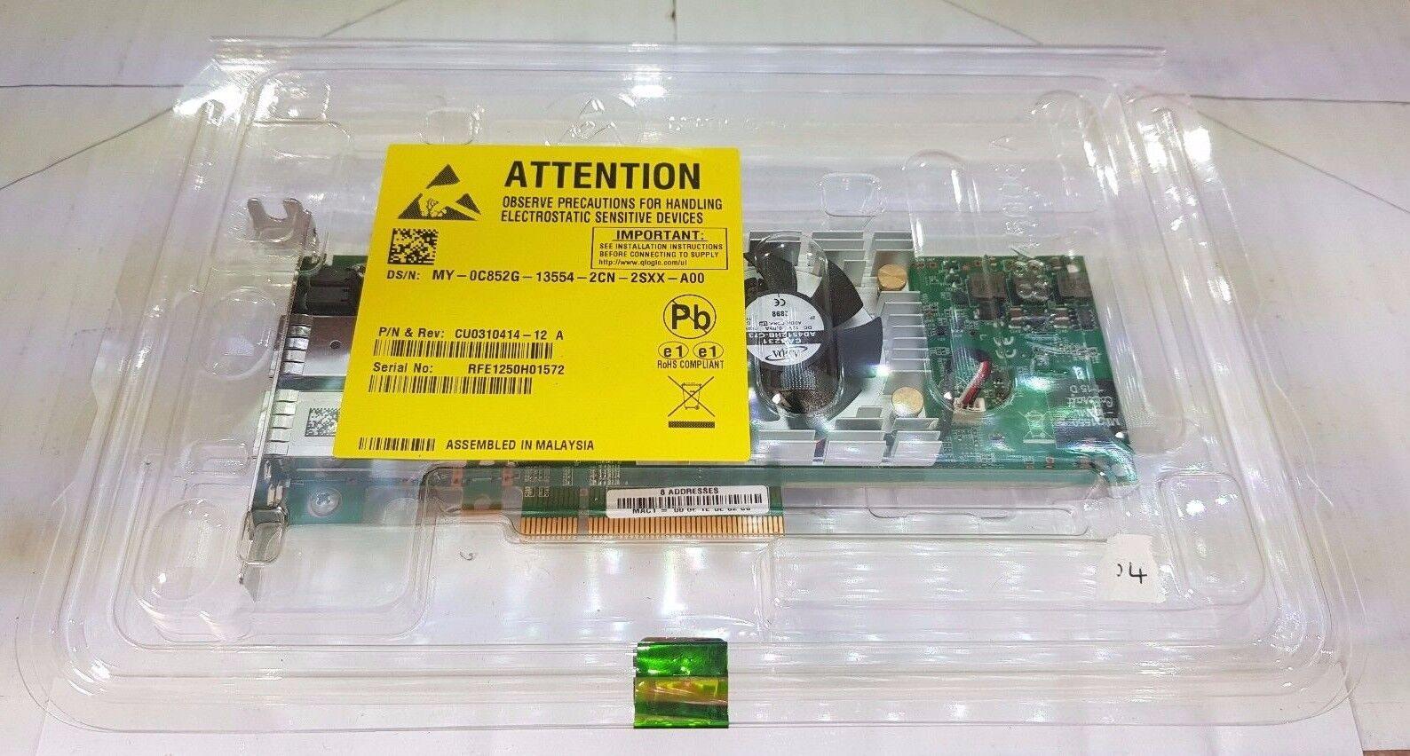 Dual Port SFP+ 10GbE 10GE iSCSI FCoE EtherNet PCI-e 2.0 x8 Dell C852G