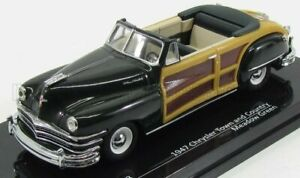 VITESSE 1/43 CHRYSLER | TOWN AND COUNTRY CABRIOLET OPEN 1947 | DARK GREEN WOOD