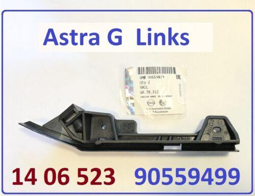 90559499 raíl guía Astra G la parte delantera izquierda Opel original 14 06 523