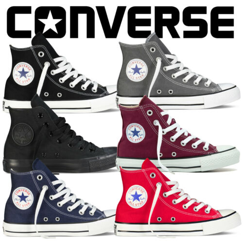 Details zu Converse All Star Chuck Taylor Mens Womens Unisex High Hi Lo Tops Trainers Pumps