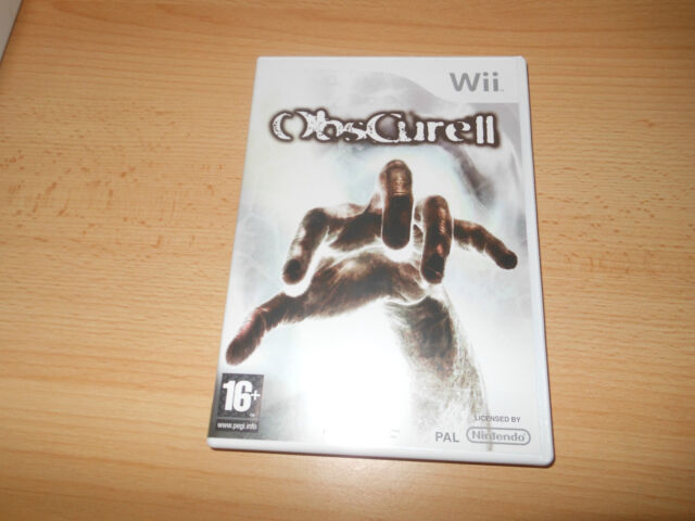 Nintendo Wii Game - Obscure II  MINT COLLECTORS PAL VERSION