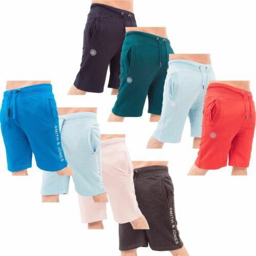 New Mens Smith and Jones By Crosshatch Fleece Jersey Shorts Jogging Gym Pants