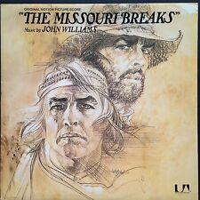 Rare! John Williams MISSOURI BREAKS Film Soundtrack OST LP 1976 Brando Nicholson