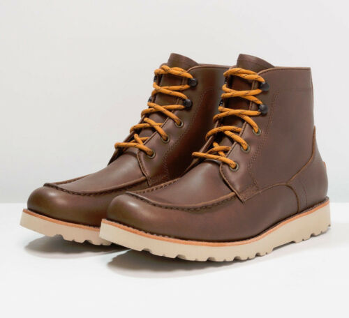 Boots Hi Men's Agnar Brown Sneakers Dirt Shoes Ugg Trainers £190 Desert New Top grizzly Leather Bnib aqIwnOn7X