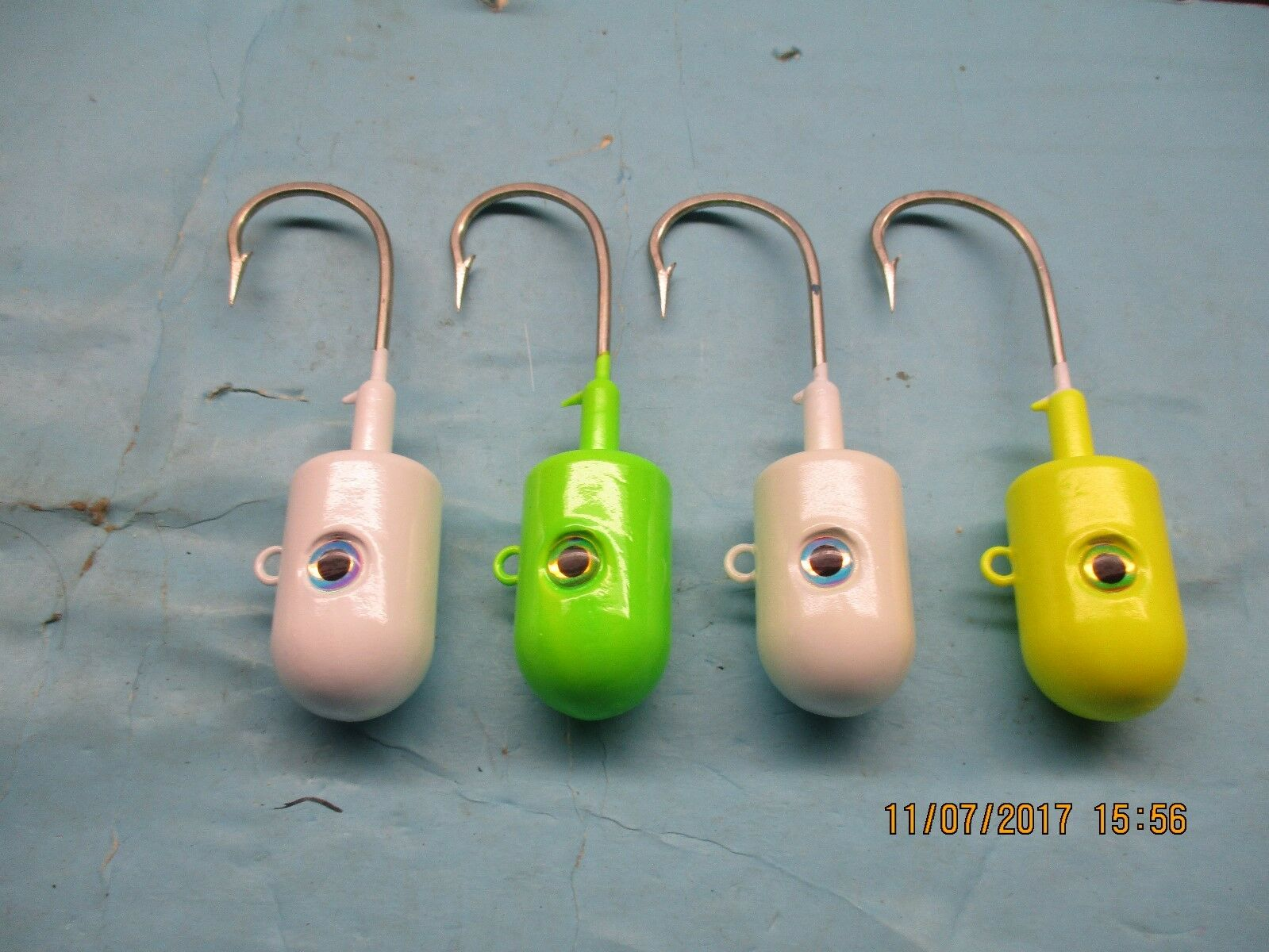 Large painted Bullet Bullet Bullet heads jigs 9bc21b