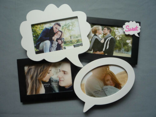 "Picture Photo Frame 4PCS Set Multi Photo Frame With ""Sweet"""