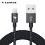 Rampow-2-m-Lightning-Cable-MFI-USB-Cable-de-charge-rapide-pour-iPhone-12-11-x-8-se-iPad miniature 8