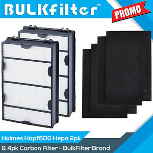 2pk-Hapf600-Replacement-Hepa-Filter-B-4pk-Prefilter-for-Holmes-amp-Bionaire