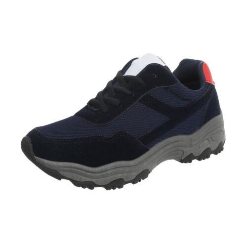 Sneakers Freizeitschuhe Sneakers Low Damenschuhe 0426 Ital-design