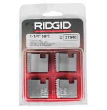 Ridgid 37840 1 14 12r Npt Pipe Threading Dies