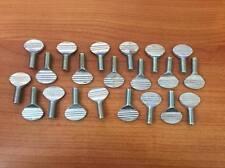 """Steel Spade-Head Thumb Screws- 5/16"""" -18 & 3/4"""" Length- Pack of 20"""