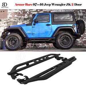 Image Is Loading Fit 2007 2016 Jeep Wrangler Jk 2 Door