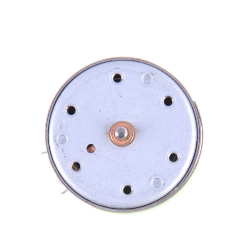 DC 3V Mini Mute 400 Solar Power Motor Ultrathin Small Round Motor DIY FO
