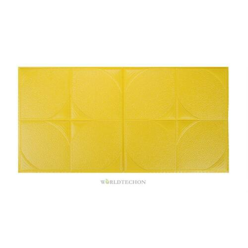 3D Brick Wall Sticker PE Soft Foam Self-Adhesive Tile Wallpaper Panel Room Decal