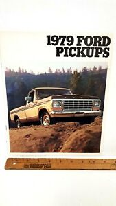 1979-FORD-Pickups-Original-Sales-Catalogue-Excellent-Condition-CDN