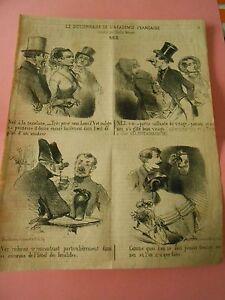 Litho-19eme-Le-Dictionnaire-de-l-039-academie-Francaise-Le-Nez