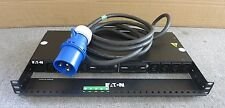 Eaton TPC2105-2780 8 Outlet 1U Rackmount PDU Power Distribution System With Ears