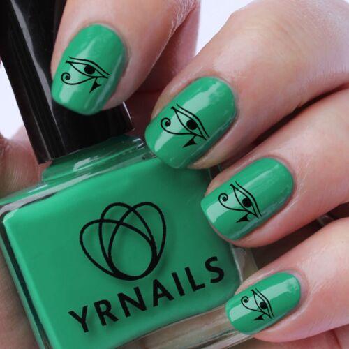 Nail Wraps Nail Art Water Transfers Decals Eye Of Horus S053 Ebay