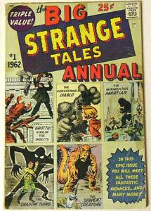 Big-Strange-Tales-Annual-1-GD-1962-Marvel-Comics-Jack-Kirby-Steve-Ditko