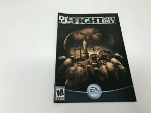 Def Jam: Fight for NY - Playstation 2 PS2 - Manual Only - FRENCH VERSION