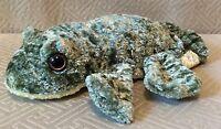 Caltoy Plush Green Frog Hand Puppet