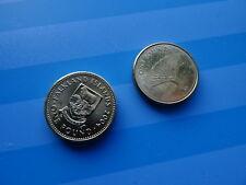 Gibilterra £ 1 + Isole Falkland £ 1, paragrafo 2, una sterlina MONETE) - La struttura DRAGON