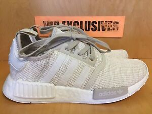 ADIDAS NMD R1 Roller Cream Clear Brown Clear Brown White CG2999 Women size 6 11