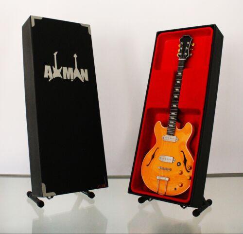 John Lennon Miniature Guitar Replica UK Seller Beatles E230TD Casino