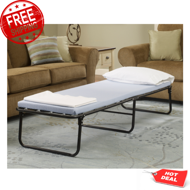 Portable Cot Memory Foam Mattress Twin