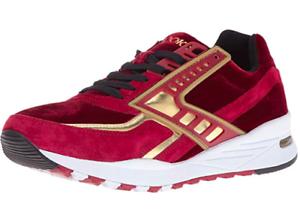 Brooks Heritage para hombre Regent Zapatillas Rojo Dahlia Calzado Atlético Cromo oro 10