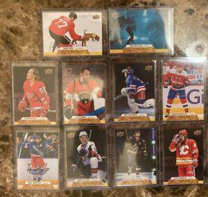 💖 2020-21 Upper Deck Series 1 & 2 Canvas Hockey Card Set **You Pick**