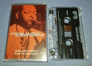 COLEMAN HAWKINS HAWKS GROOVE cassette tape album A0748