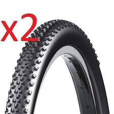 2x Chaptah Mordeo 700x35 Sport Cross Tyre 37-622 700c Wire Bead BLACK