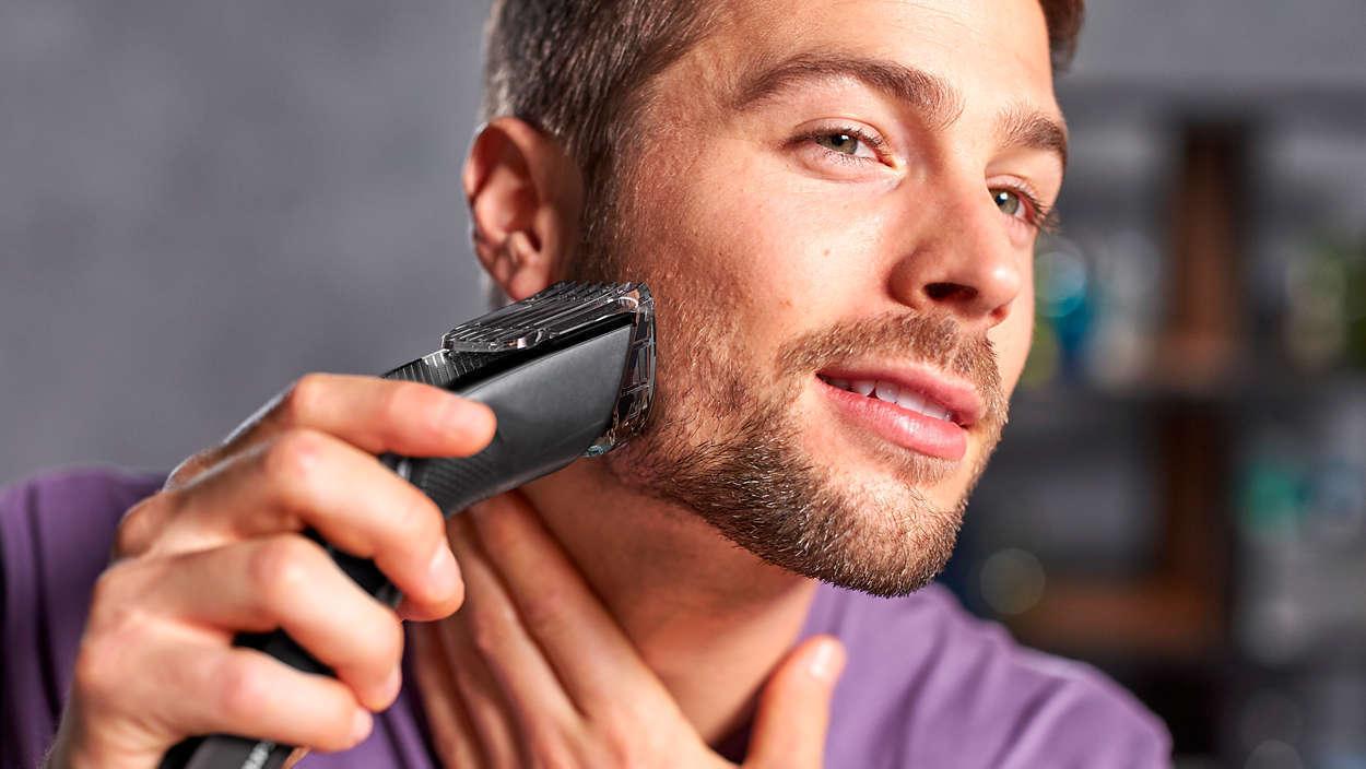 PHILIPS HC 3520 AKKU Haarschneider Trimmer Bartschneider Haarschneidemaschine