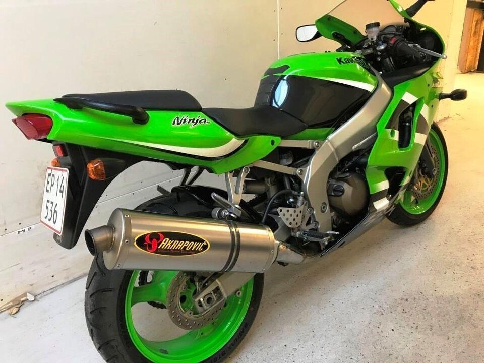Kawasaki, ZX6R NINJA, ccm 600