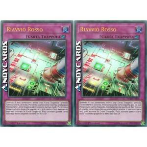 2x RIAVVIO ROSSO • (Red Reboot) • Ultra R • DUDE IT056 • Yugioh! • ANDYCARDS