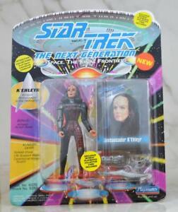 Vintage-Star-Trek-Action-Figure-Commander-Sela-Romulan-Commander-1993