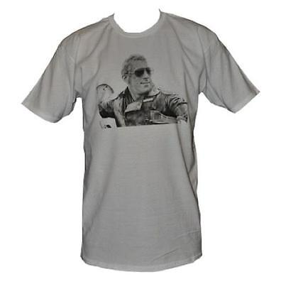 T SHIRT GOOSE MAD MAX MENS WHITE BRAND NEW ALL SIZES FREE DELIVERY AUSTRALIA