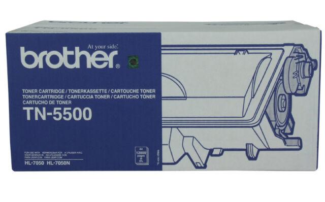 Brother Genuine TN-5500 TN5500 Toner For HL7050 HL 7050 - 12,000 Pages