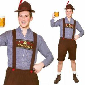 Guy Oktoberfest Bavarese Birra Costume