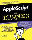 AppleScript For Dummies by Tom Trinko (Paperback, 2004)