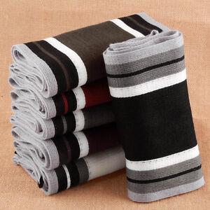 Men-Classic-Cashmere-Scarf-Winter-Warm-Soft-Fringe-Striped-Tassel-Shawl-Wrap-SM