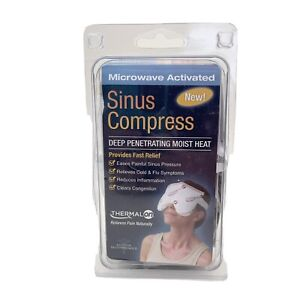 Thermalon Microwave Activated Moist Heat-Cold Sinus Allergy Relief Mask NEW