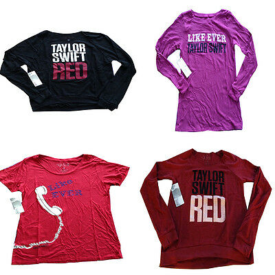 Nwt Taylor Swift Red Tour Black Or Red Sweatshirt Like Ever Shirt Small Ebay