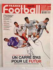FRANCE FOOTBALL 28 SEPTEMBRE 2004 LE FUTUR : TAIDER NASRI BEN ARFA GOURCUFF