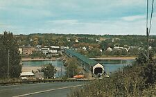 "LAM(C) New Brunswick, Canada - ""Longest Covered Bridge in the World"""